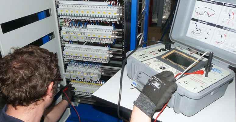 Cuadros eléctricos industriales - pruebas de control