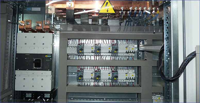 electrical-cabinets-for industrial freezing system